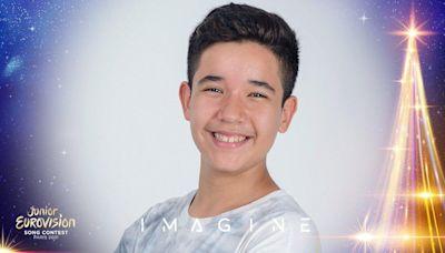 Levi Díaz, representante español en Eurovisión Junior 2021