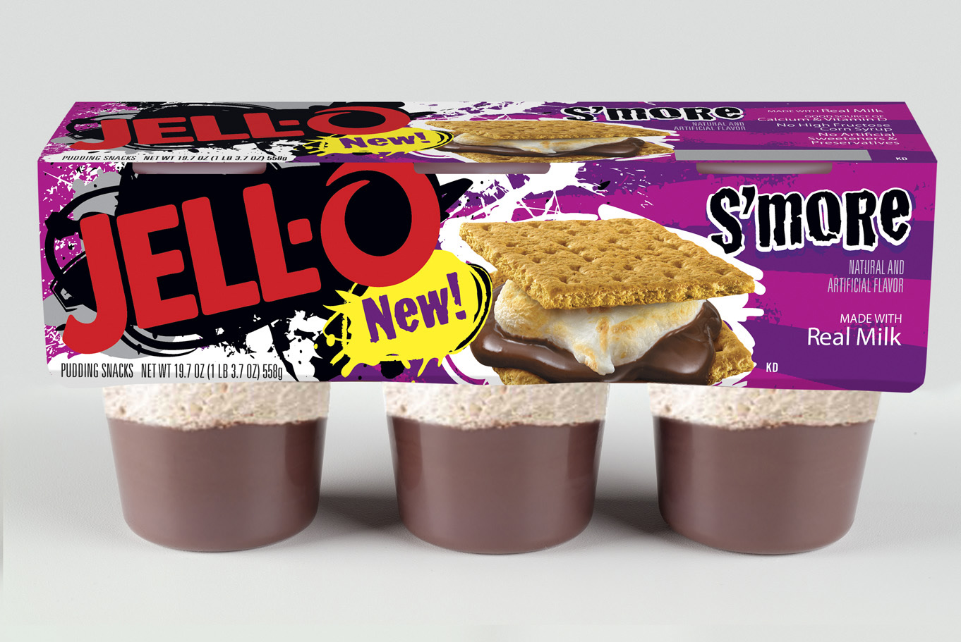 New Jello Pudding Snacks Flavors: S'more & Strawberry Sundae - Mommies ...