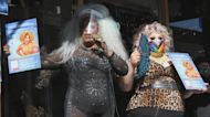 Drag queens hit the streets to register voters