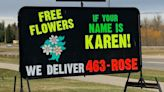 A Florist Named Karen Is Giving Out Free Flowers to Karens