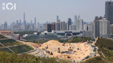 沙嶺骨灰龕場拖10年始成形 早預告深圳可望地盤 動工3年遇阻力