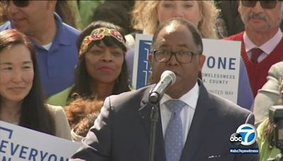 Ridley-Thomas will 'step back' from LA City Council