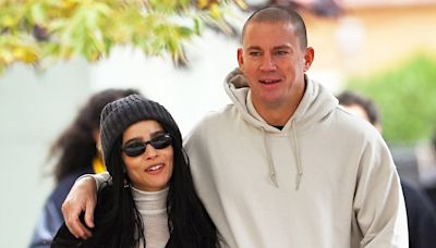 Zoë Kravitz and Channing Tatum Hold Hands on Their Way to Lunch in N.Y.C.