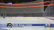 Live Look At Wells Fargo Center Ahead Of Flyers Season Opener