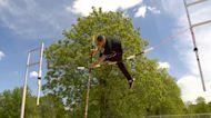 High School pole vaulter clears major hurdles