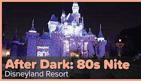 Excellent adventure at Disneyland After Dark: 80s Nite