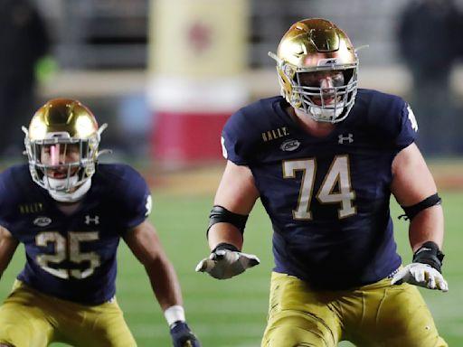 Prospect for the Pack: Notre Dame OT Liam Eichenberg