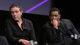'I can't believe we did this': Frances McDormand chokes up with Denzel Washington over 'Tragedy of Macbeth'