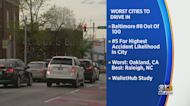 Baltimore Found Eighth Worst City To Drive In