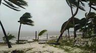 Tropical Storm Gamma hits Mexico