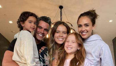 Jessica Alba Sends 'Big Hugs' in Father's Day Tribute to Husband Cash Warren with Sweet Family Pics