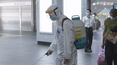 北車清潔員4染疫 1樓店面停業3天清消