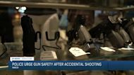 Police urge gun safety after accidental shooting