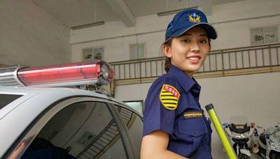 酒駕男拒攔查加速逃離 警花「北宜林志玲」開槍嚇阻逮人