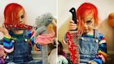Tori branded 'bad mom' for dressing son Beau, 4, as killer doll Chucky
