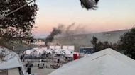 Thousands Displaced After More Fires Break Out at Moria Refugee Camp in Lesbos