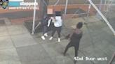 (影) 仇恨犯罪現場直擊 紐約街頭2亞裔女遭錘子敲頭