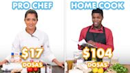 $104 vs $17 Dosas: Pro Chef & Home Cook Swap Ingredients