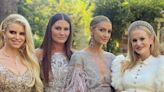 Jessica Simpson and Sister Ashlee Simpson Ross Are the Most Glamorous Bridesmaids at Friend's Wedding - E! Online