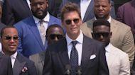 Tom Brady Pokes Fun at Trump's False Election Claims