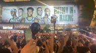 Fans Celebrate as Milwaukee Bucks End 50-Year Wait for NBA Title