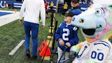 'Reunited with my guy': Giovanni Hamilton, Carson Wentz's biggest fan, meets Colts QB