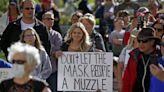 'Consigning his voters to sickness': Trump fuels culture war over masks