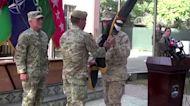 U.S. general symbolically ends Afghanistan war