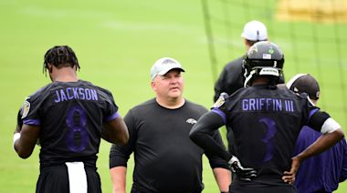 Ravens coach John Harbaugh expects OC Greg Roman back for 2021 season