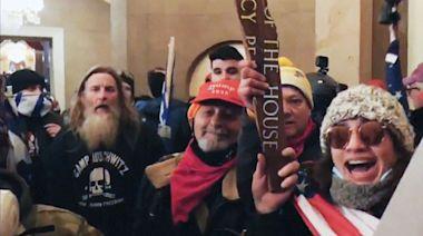 Pelosi denounces 'punk' seen wearing 'Camp Auschwitz' shirt in Capitol riot