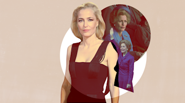 "Gillian Anderson Says ""No Wigs Were Harmed"" in Her Portrayal of Margaret Thatcher"