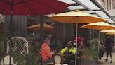 Restaurants prep outdoor dining as rainy season nears