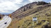 Steep butte land to be a housesite