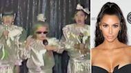 Kim Kardashian Shares Rare Home Movie Singing With Her Sisters