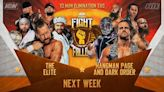 Tony Khan Announcement, The Elite In Action On Next Week's AEW Dynamite