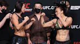 UFC on ESPN 24 weigh-in faceoffs video highlights, photo gallery