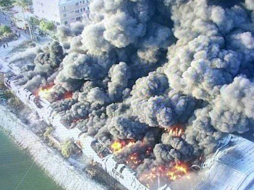 台南連兩起工廠大火 消局:不排除究責公共危險