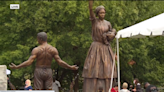 Richmond unveils monument to end of slavery two weeks after removing statue of Robert E Lee