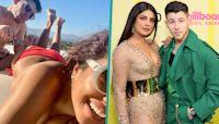 Priyanka Chopra Shares Cheeky Picture Of Nick Jonas Eating Off Her Butt 'Snack'