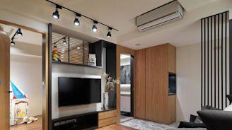 破解單面採光、狹長屋型!簡約風打造20坪舒適好宅