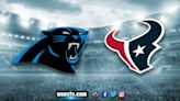 Primetime on Channel 9: Panthers, off to 2-0 start, visit Texans