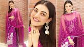 Kajal Aggarwal Defines Grace and Elegance in her Traditional Anita Dongre Outfit (View Pics)