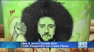 Ben & Jerry's Unveils New Colin Kaepernick Ice Cream Flavor