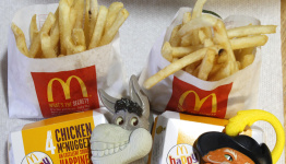 McDonald's gives Happy Meal toys a sustainable makeover in climate push
