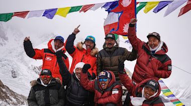 K2: Nepalese climbers complete first winter ascent of world's second highest peak