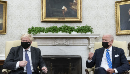 UK's Johnson concedes US trade deal not in the offing