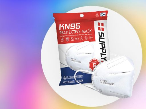 Over 29,000 Amazon shoppers give these KN95 masks a perfect five-star rating—and they're on sale today
