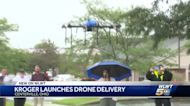Kroger drone delivers groceries, history in inaugural flight