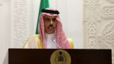 Saudi foreign minister, U.S. special envoy to Iran discuss nuclear talks - SPA