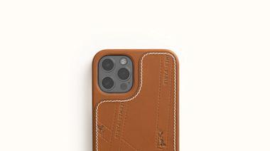 愛馬仕全新iPhone皮革手機套以緞帶包裝為靈感,加上便利MagSafe充電功能!加碼盤點LV、CELINE、Chanel…7款皮革手機套